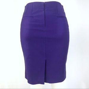 J. Crew   Jewel Purple Stretch No. 2 Pencil Skirt